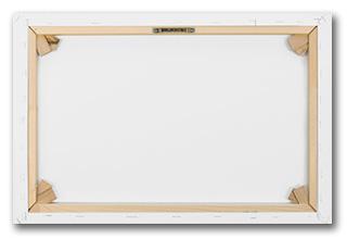 Canvas Frame Kopen.Live In Color 150x50 Cm