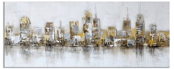 New York in the evening 60 x 150 cm
