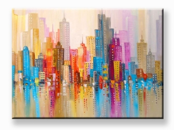 City with love 80x100 cm